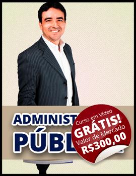 Curso Administração Pública