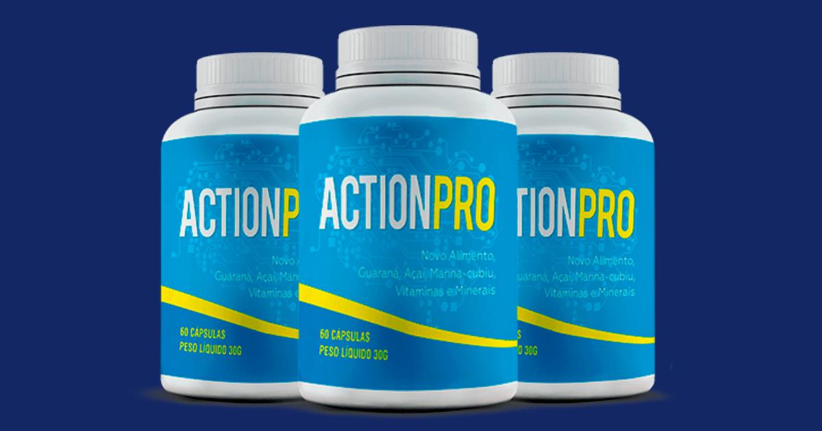 ActionPro: Suplemento para Memória, Foco e Concentração