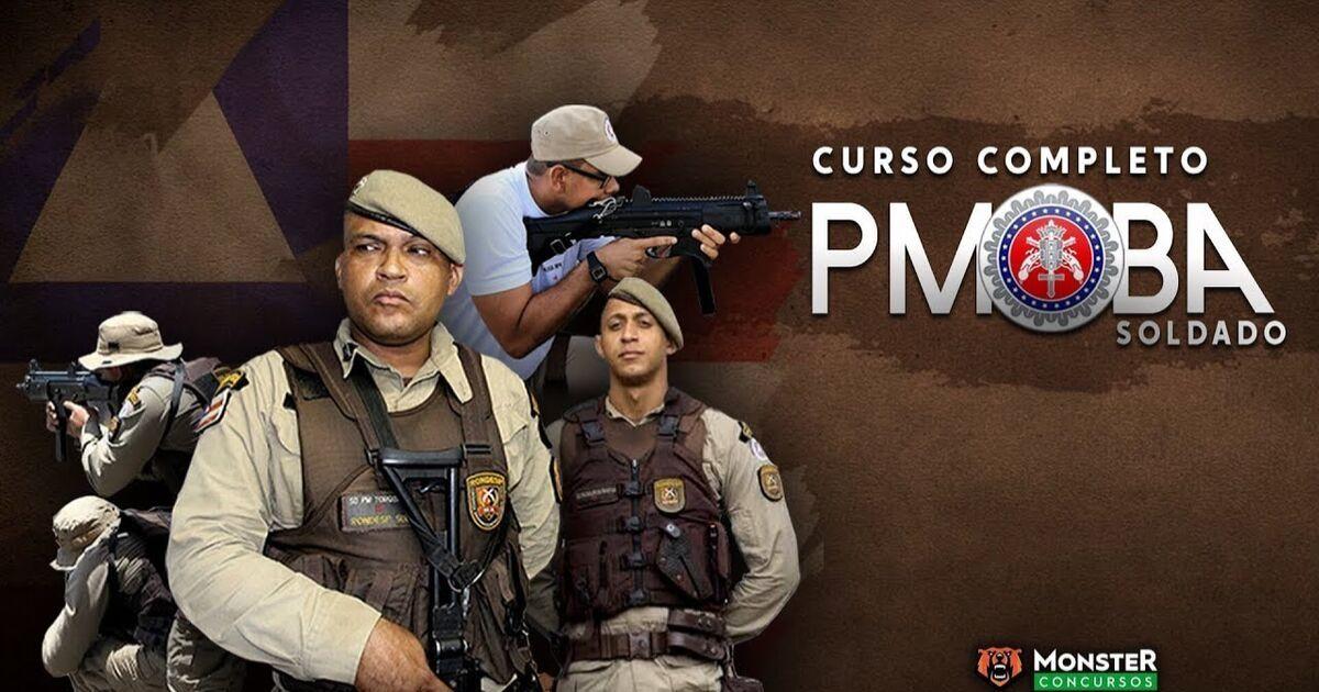 Monster Concursos – Curso PMBA 2019 (Soldado)