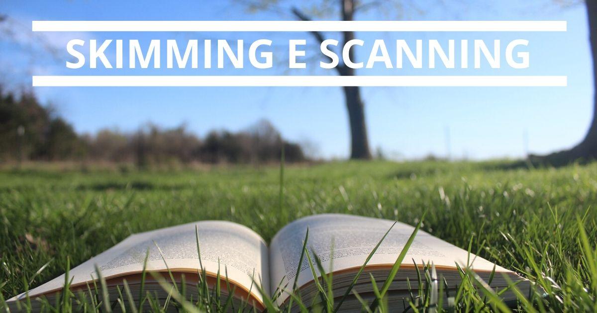 Skimming e Scanning: Conheça Essas Duas Técnicas de Leitura