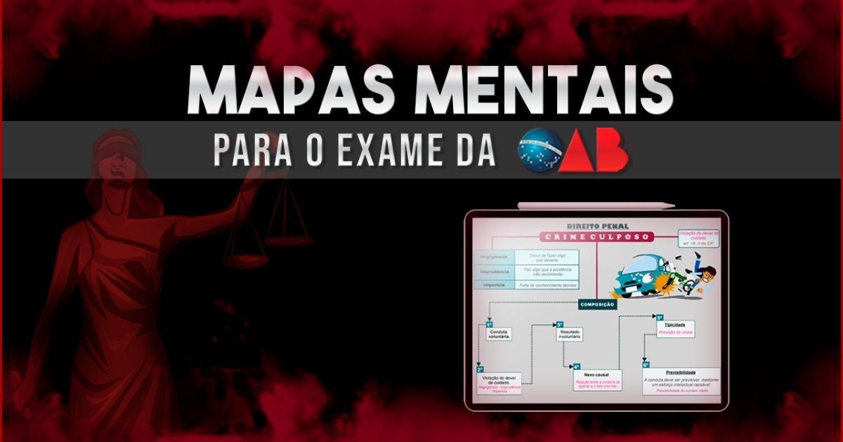 Mapas Mentais para OAB do Tá Tudo Mapeado