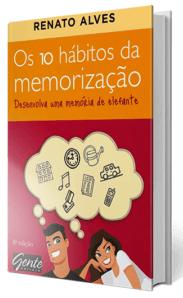 Livro Os 10 Hábitos da Memorização