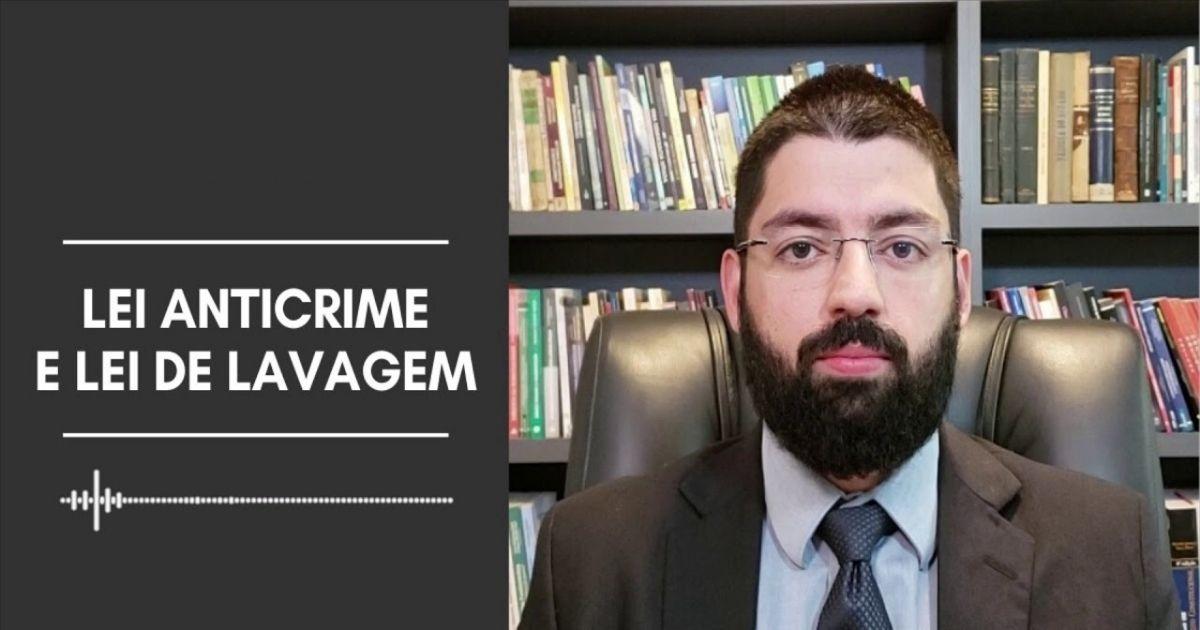Curso da Lei Anticrime do Prof. Evinis Talon