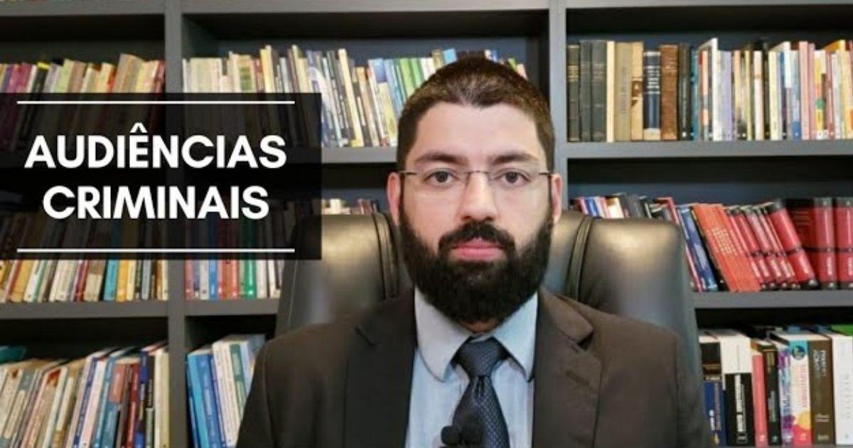 Curso de Audiências Criminais do Prof. Evinis Talon