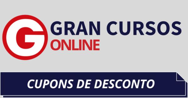 Cupons de Desconto Gran Cursos Online 2021