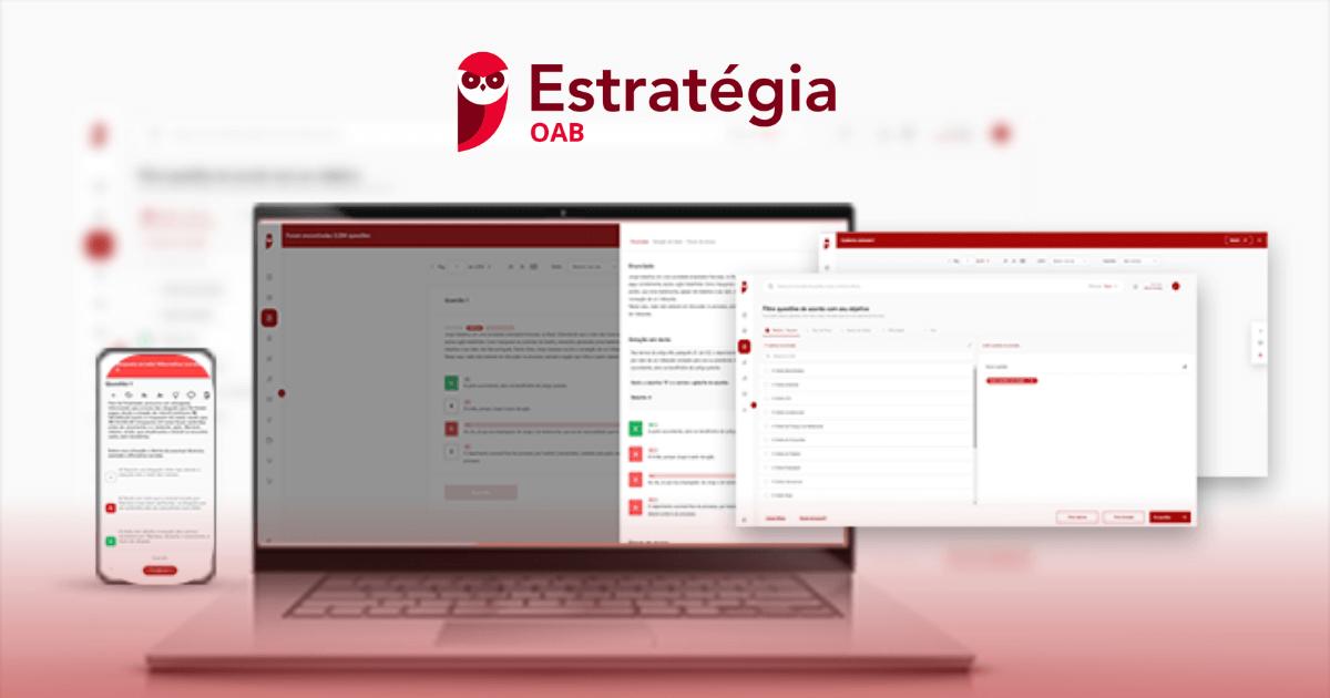 You are currently viewing Estratégia OAB: Tire Suas Dúvidas Sobre Essa Plataforma