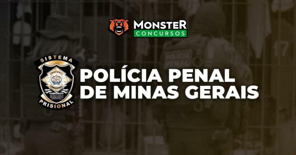 Curso Polícia Penal MG Monster Concursos